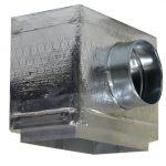 Puszka rozprężna pod kratkę z płyt Climaver